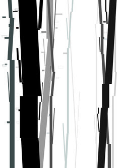 tree, grid, space, graphic, design _2015 by su jin kim