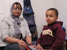 somali child who just underwent through circumcision.