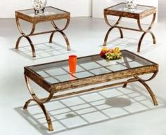 Loving the uniqueness of your set - can make a real statement in your living or family room! ($198 for the set)