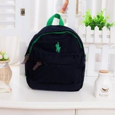 Children Polo Canvas Backpack