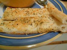 Heat's Kitchen: Cheesy Breadsticks