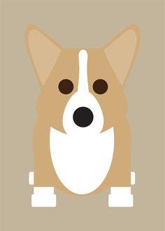 Boxer, Bulldog, Corgi, German Shepherd, Westie Collection / marcartshop