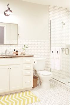 A Whole House Before and After You Need to See to Believe// subway tile