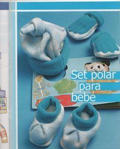 Комплект из флиса для малыша (шапочка, варежки, пинетки). Обсуждение на LiveInternet - Российский Сервис Онлайн-Дневников