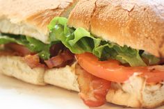 New favorite dish added from Contributing Chef Michael Gilligan. #BLT from Football #Sandwich Shop. #bacon #lettuce #tomato #classic #american #sando #sub #lunch #mayo #miami #chefsfeed