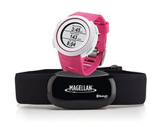 Magellan Echo Smart Sports Watch with Heart Rate MonitorBluetooth Smart Pink ** Details can be found by clicking on the image.