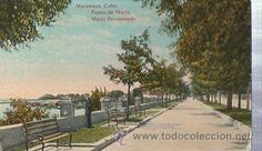 TARJETA POSTAL MATANZAS CUBA, PASEO DE MARTI (Postales - Postales Extranjero - América - Cuba)