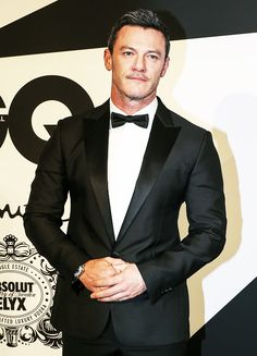 """lukeevanss: """"""""  23/ ? - favorite events/appearances photos of Luke Evans -  GQ Men of the Year Awards ( November 11th, 2017 ) """" """""""