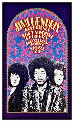 "Jimmy Hendrix Concert Poster Toronto Canada 1968 • 100% Mint unused condition • Well discounted price + we combine shipping • Click on image for awesome view • Poster is 12"" x 18"" • Semi-Gloss Finish • Great Music Collectible - superb copy of original • Usually ships within 72 hours or less with > tracking. • Satisfaction guaranteed or your money back. Sportsworldwest.com"