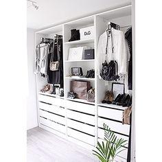 Siste Bilde Av Mitt Walkincloset I Denne Omgang Sa Hyggelig At Dere Liker Walking ClosetWalking Wardrobe IdeasIkea