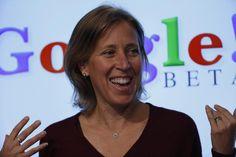 9: YouTube CEO Susan Wojcicki. REUTERS/Stephen Lam