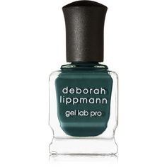 Deborah Lippmann Gel Lab Pro Nail Polish - Wild Thing (€20) ❤ liked on Polyvore featuring beauty products, nail care, nail polish, nail, makeup, beauty, filler, emerald, deborah lippmann and gel nail polish
