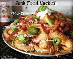 Because regular nachos are just too healthy.