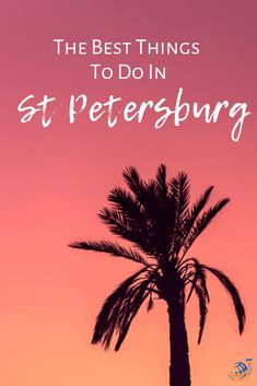 Looking to travel to St Petersburg, Florida? Check out this We Travel There podcast episode on all the best places to eat, see and do in St Petersburg. Beach Vacation Tips, Florida Vacation, Florida Travel, Florida Beaches, Us Travel, Travel Tips, Florida Girl, Sandy Beaches