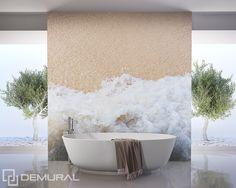 Image result for zen bathrooms mural