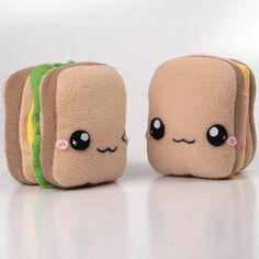 Kawaii Sandwich Plush