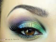 Peacock Eye – Idea Gallery - Makeup Geek