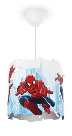 Philips Disney Lampa Wisząca Spiderman 71751/40/16