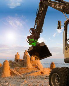 TiltRotator arbeitet so präzise, dass er eine Sandburg bauen könnte. Hier…