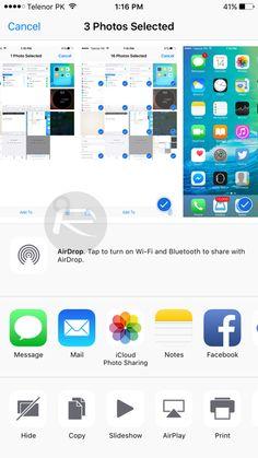 iOS 9 features