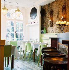 Restaurant Dekxels, Denneweg. Den Haag
