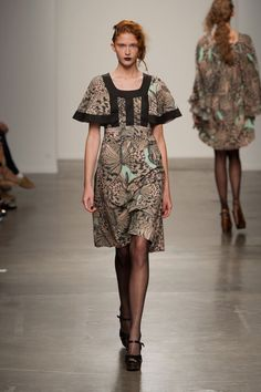 Ivana Helsinki at New York Fashion Week Spring 2014 - Runway Photos Spring 2014, Summer 2014, Spring Summer, Short Sleeve Dresses, Dresses With Sleeves, Marimekko, Helsinki, New York Fashion, Runway