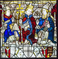 Pope Celestine, St William and an unidentified Prelate, East Window, York Minster - John Thornton (glass painter) - Wikipedia King Richard I, Pope Innocent Iii, Saint William, John Thornton, Fra Angelico, York Minster, Holy Roman Empire, Early Middle Ages