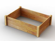 This raised garden bed kit is the easy way to grow your own fruit and vegetables. Made from thick timber boards & corner posts it will last many years of gardening Raised Bed Kits, Raised Garden Beds, Raised Beds, Timber Boards, Grow Your Own, How To Level Ground, Garden Planters, Vegetable Garden, Raising