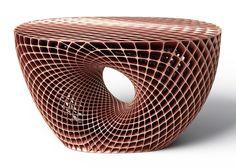 Janne Kyttanen unveils explosion-welded Metsidian table