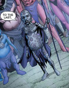 Natromo indigo tribe DC Cómics
