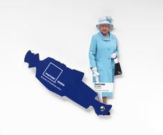 Taking inspiration from the Queen's Diamond Jubilee, Pantone is introducing a color fan deck capturing the Queen's most memorable color (or colour) choices!