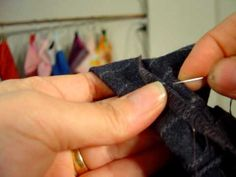 Hand stitch an invisible hem – Learning Sewing   | BurdaStyle.com