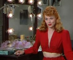 "Lucille Ball in ""Du Barry Was a Lady"". From the 1943 musical"