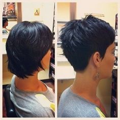 35 Amazing & Cute Short Pixie Hairstyles & Haircuts - Short Haircut Z Short Pixie Haircuts, Cute Hairstyles For Short Hair, Hairstyles Haircuts, Short Hair Cuts, Curly Hair Styles, Haircut Short, Pixie Styles, Short Styles, Wedding Hairstyles