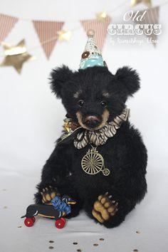 mybearloga.ru: Авторские медведи Елены Кармацкой