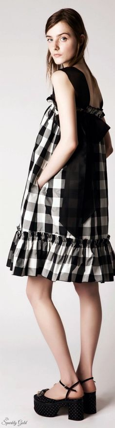 Rochas Resort 2016 women fashion outfit clothing style apparel @roressclothes closet ideas