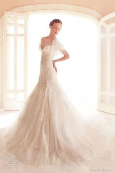 Savvy Scoop. Georges HobeikaAmazing Wedding DressBeautiful Wedding GownsDream  Wedding DressesLace ... e65ce4d5e3dd