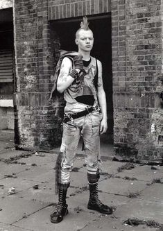 British Subcultures of the 1970S - 1990S