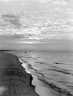 Sunrise at the beach 1952 - Fort Walton Beach, Florida