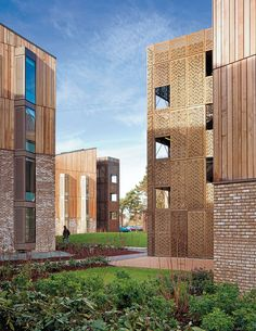Royal Veterinary College Student Housing, Hatfield, Hertfordshire by Hawkins/Brown