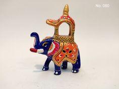 Metal Meenakari Painted Elephant (Ambabri) Maharaja Elephant contect no & Whatsapp no. +917014735748   Email:- fazilhussain0000@gmail.com Elephant, Metal, Birthday, Painting, Paintings, Elephants, Metals, Draw, Drawings