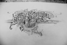 Beautiful font work, and I love the band of detail running behind the artwork.