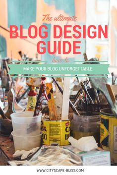 Improve your blog how to improve your blog design the ultimate blog design guide - where to find a great blog designer and what to consider, beautiful blog design how to Cityscape Bliss // Blog cheat sheet, blogging tips, blog tips Productivity Apps, Improve Yourself, Make It Yourself, Blog Images, Build Your Brand, Blog Design, Learn To Paint, Blogging For Beginners, Blog Tips