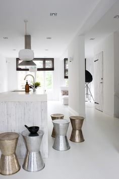 ★ One of my favorites A white home in Amsterdam designed by AnoukB