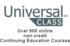 Over 500 free online continuing education classes just for you!  Imagine, free classes anytime, anywhere.  Program features include real instructors, remote 24/7 access via the Internet, connection with other students, and continuing education units on selected courses.