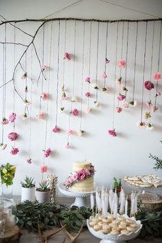 Boho & Bubbly Baby Shower via KARA'S PARTY IDEAS | http://KarasPartyIdeas.com (39)
