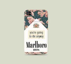 Rose Floral Cigarette pack printed Plastic Hard Case  by desPaleta, $16.99