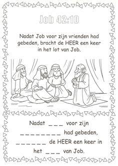 Job 42:10 voor vrienden bidden