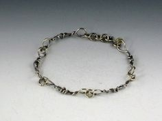 Vine Link Bracelet by MicheleGradyDesigns on Etsy, $80.00