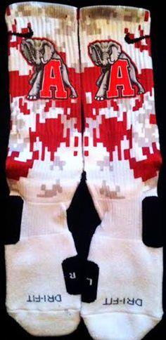 New+design+Alabama+Custom+Nike+Elites Half+covered+digital+camo+